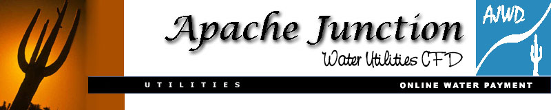 Apache Junction Water Company